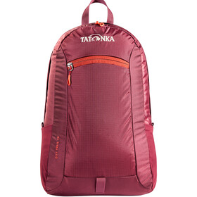 Tatonka City Trail 16 Rucksack bordeaux red